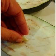 eggplant dip garlic slice
