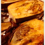 eggplant dip roasted